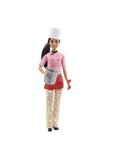Barbie ZZ Kariyer Bebekleri  Oyuncak Bebek U332784 Renkli